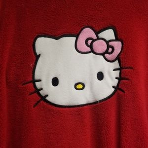 Red hello kitty robe
